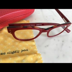 Eyebobs Butch Red & Tortoise Readers 3.00 Case New